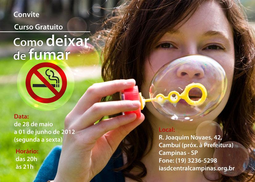 O que impede para deixar de fumar