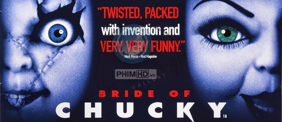 Phim Ma Búp Bê 4 VietSub HD | Bride Of Chucky 1998