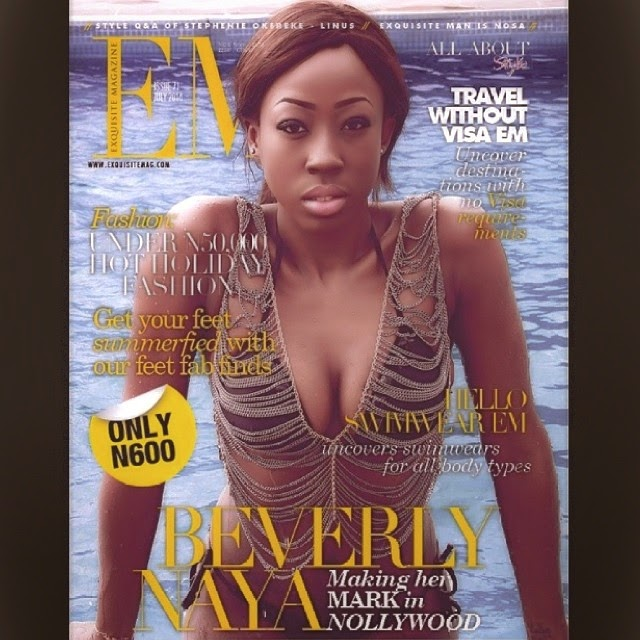 Beverly Naya On The Cover of Exquisite Magazine