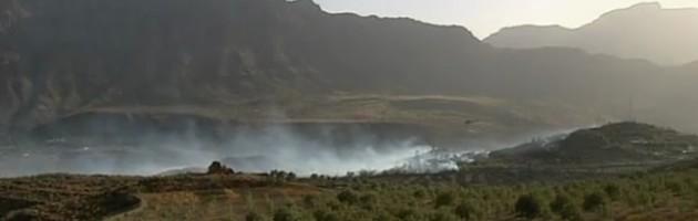 estabilizado incendio forestal Santa Lucía Gran Canaria