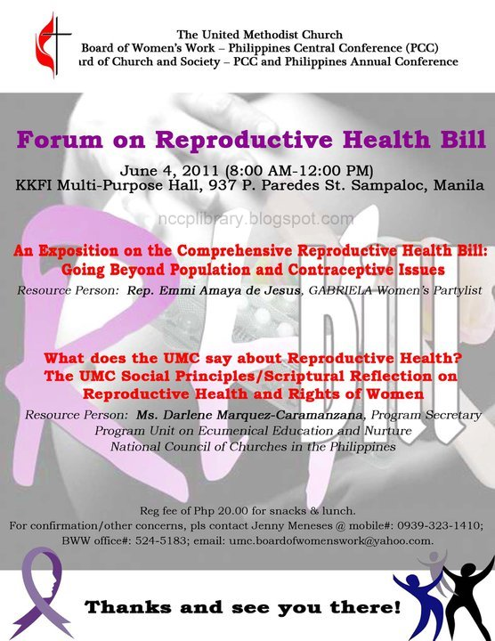 reflection of rh bill Let's call a spade a spade: the bill promotes population management more than it does reproductive health.
