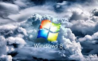 Windows 8 cloud Wallpaper