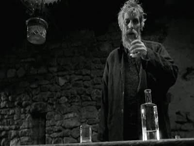 The Turin Horse, The Old Master savors his daily doze of Palinka, directed by Bela Tarr