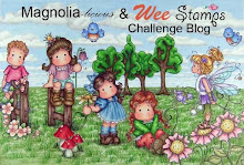 Magnolia-licious & Wee Stamps Challenge Blog
