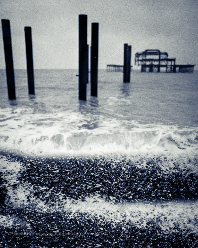Brghton West Pier on film