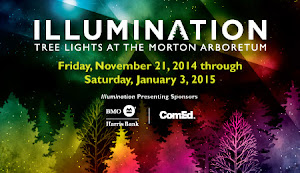 Congrats Sherry C--You WON: 4 Tickets to Morton Arboretum Illumination: Tree Lights ($80 Value)