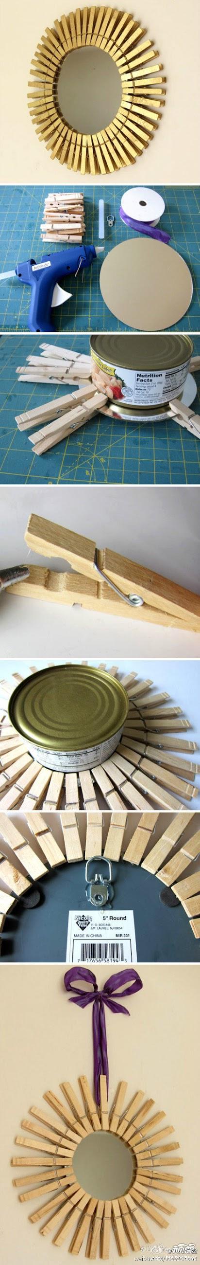 Make ikea Style Round Mirror