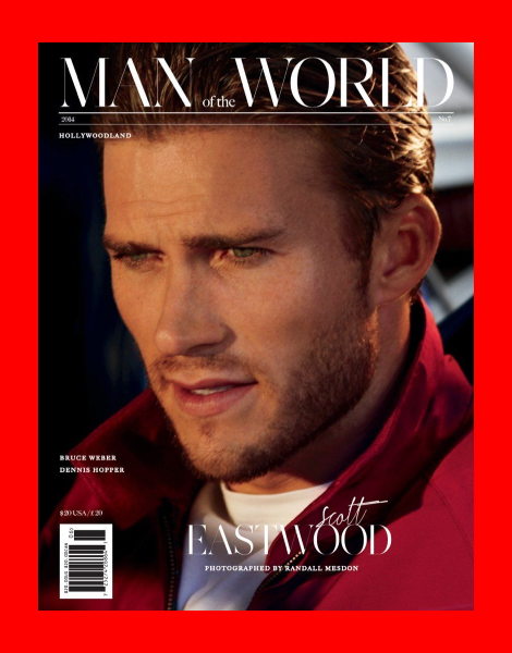 Scott Eastwood covers Man of the World issue 7