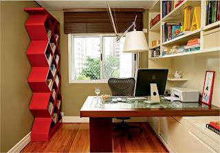 como decorar um escritório de forma simples