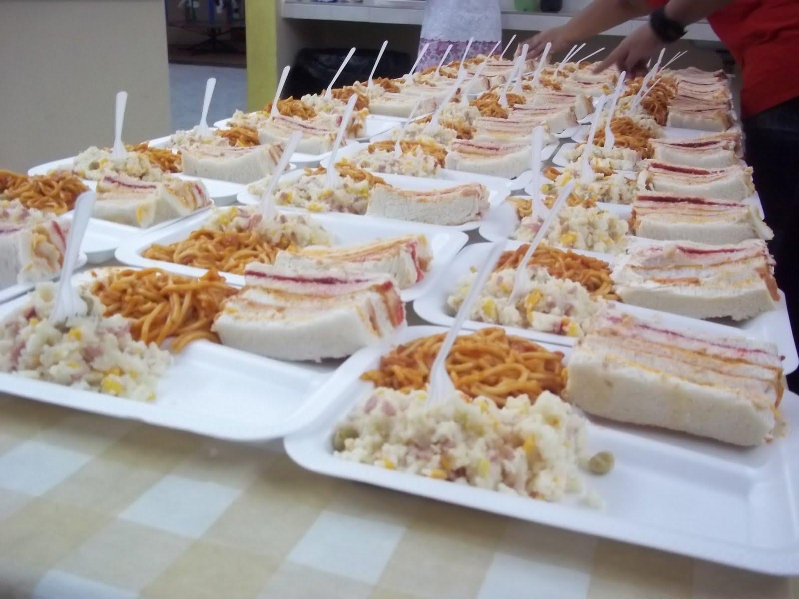 Comida para fiestas m rida baby shower paquete fiesta for Platos sencillos para cocinar