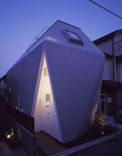 fachada minimalista en Japón