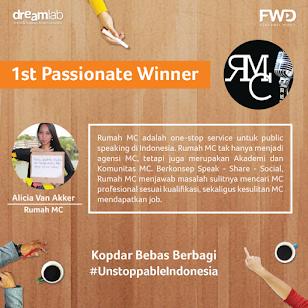 1st Passionate Winner