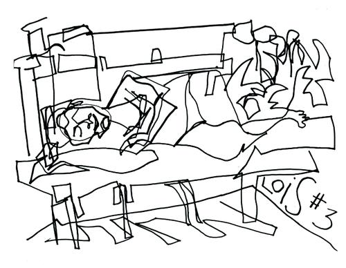 Contour Line Drawing Quiz : Cbu drawing