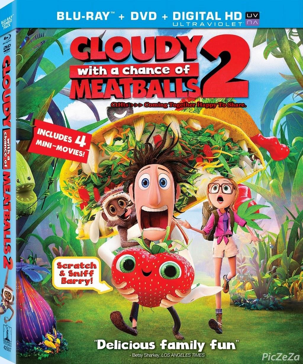 ดูการ์ตูน มหัศจรรย์ของกินดิ้นได้ Cloudy with a Chance of Meatballs 2