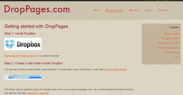 hosting at droppages