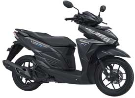 Honda Vario eSP 150 for rent in Ubud, Bali