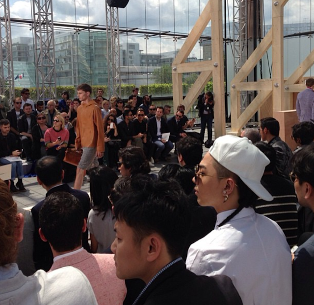 taeyang at louis vuitton pfw 2013