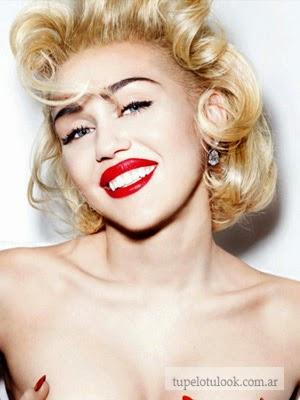Miley Marilyn cortes de pelo 2014