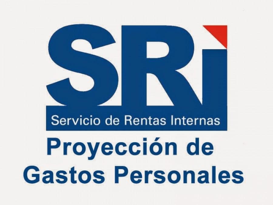 Deduccion de Gastos Personales 2015