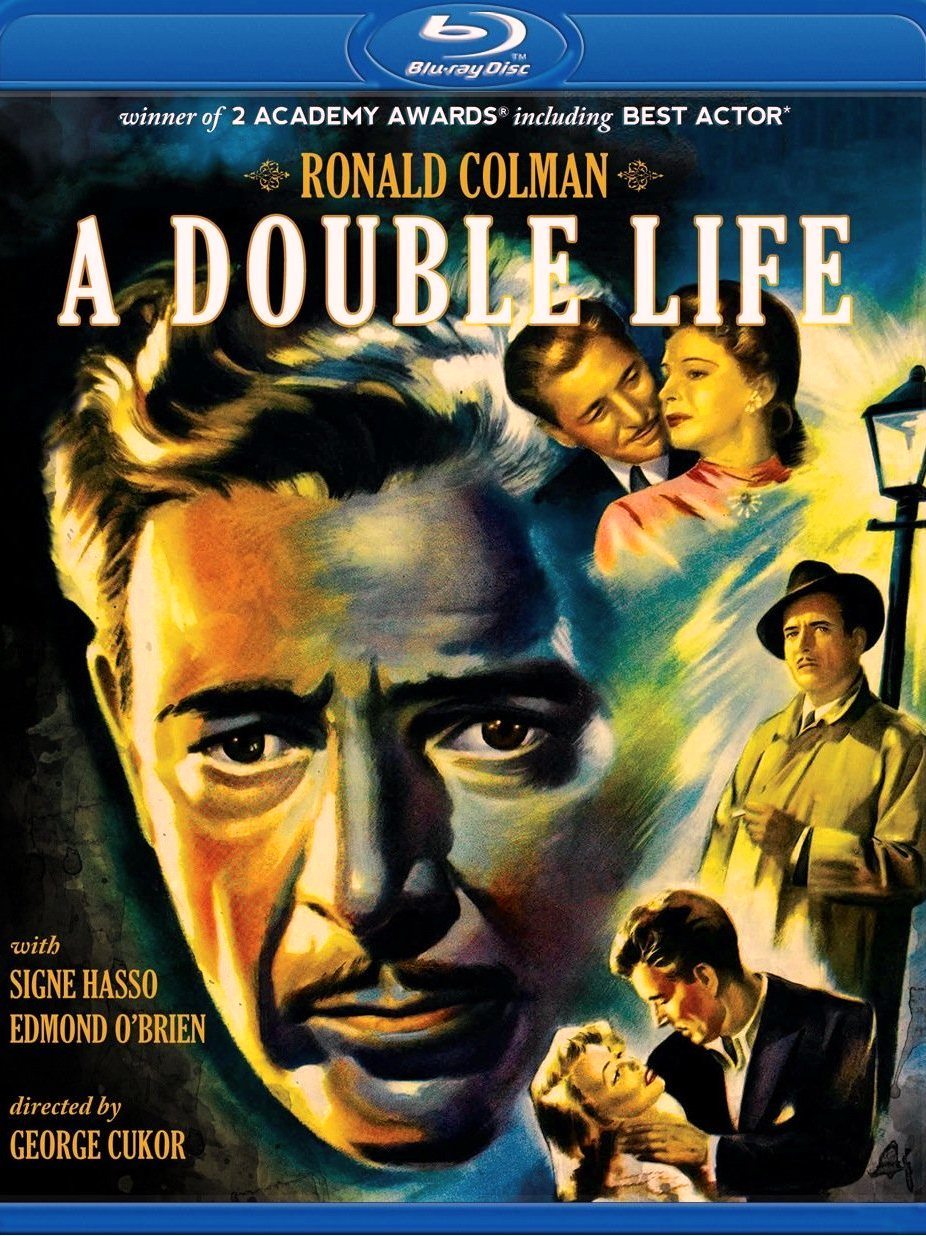 DOUBLE LIFE: Blu-ray (Universal International 1947) Olive Films
