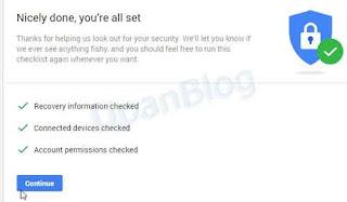 Pemulihan tehadap akun gmail anda