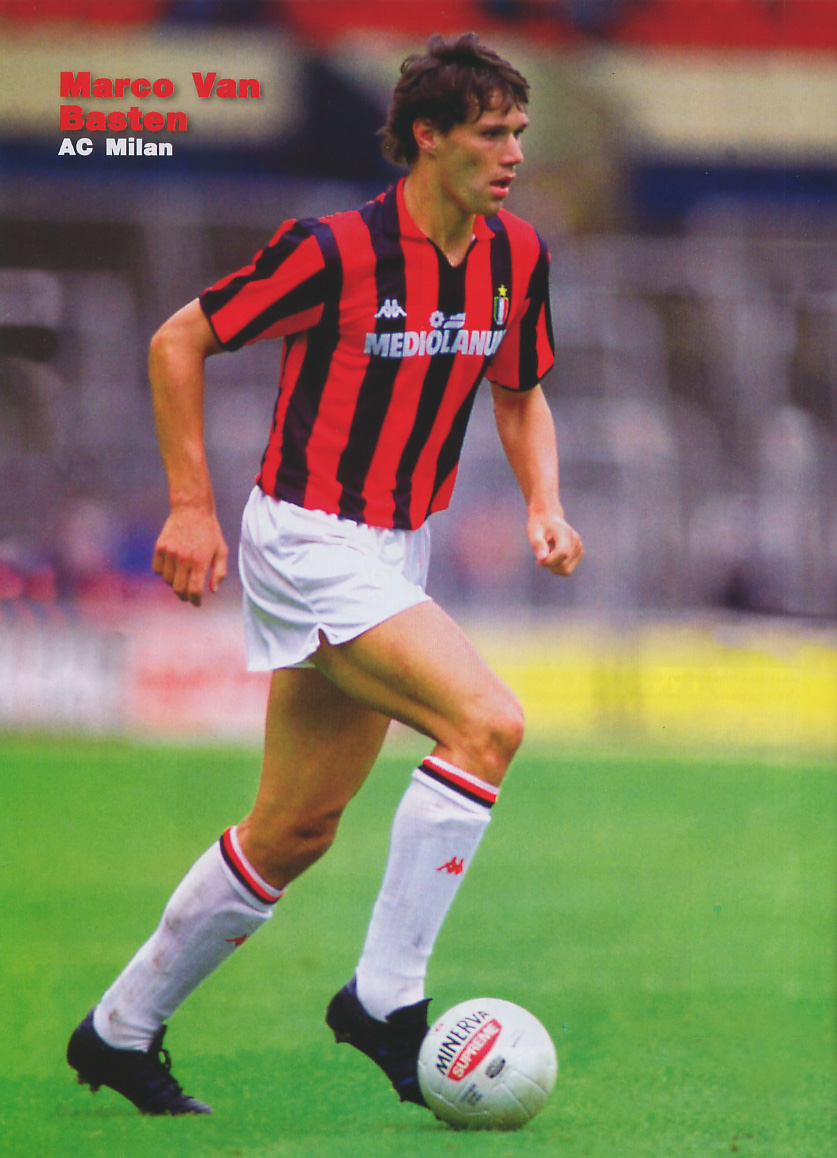 Marco Van Basten Volley Makes For Perfect Viewing On His