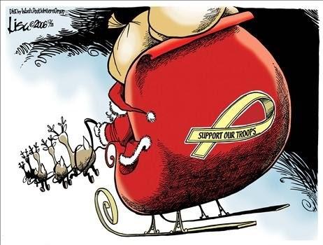 Thankasoldier Christmas Cards For Veterans