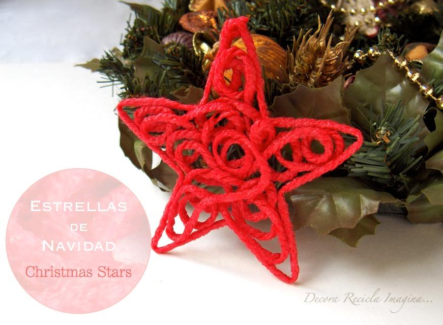 la estrella de navidad es un adorno que no puede faltar tanto si sois de poner beln como si sois de rbol y si ponis las dos cosas con ms motivo