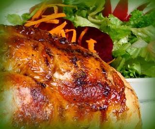 Pollo a la brasa estilo pachamanquero