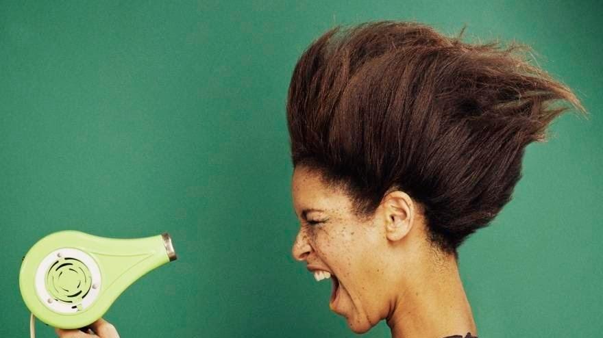 وصفة لتنعيم الشعر  الجاف