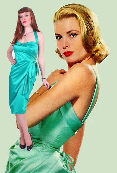 grace kelly rear window dress. grace kelly rear window