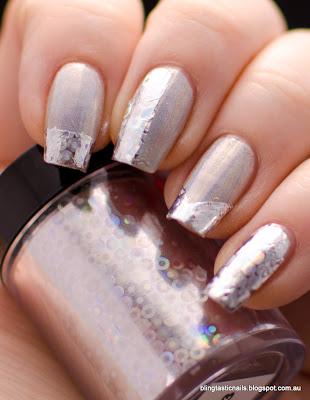 KKcenterhk Holographic Nail Foils