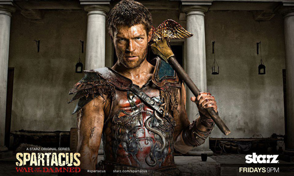 Free Wallpaper Liam McIntyre from Spartacus War of the Damned
