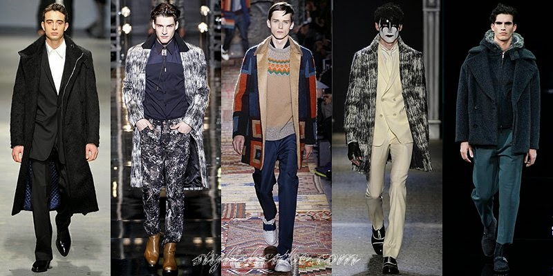 Winter 2015 Men's Coats Fashion Trends