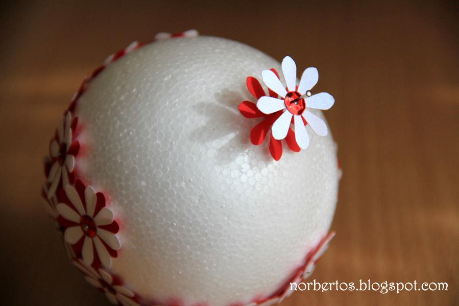 How to make Christmas tree ball