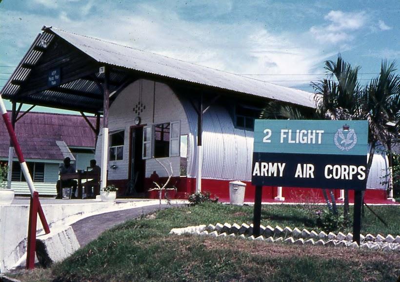 2 Flight Army Air Corp, Paroi Camp, Seremban, Malaysia