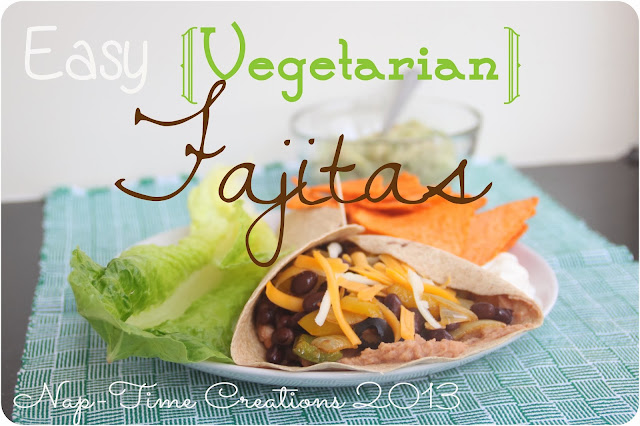 Vegetarian Fajita Recipe