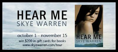 Blog Tour: HEAR ME by Skye Warren & Giveaway