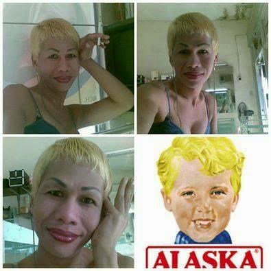 Alaska makeup transformation
