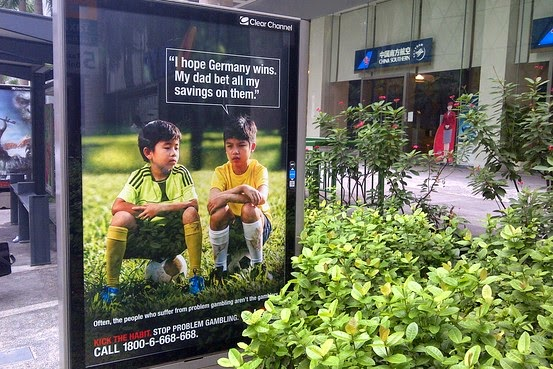 Anti-gambling, campaign, backfires, Germany, Brazil, 7-1, World Cup 2014, funny, viral, memes,