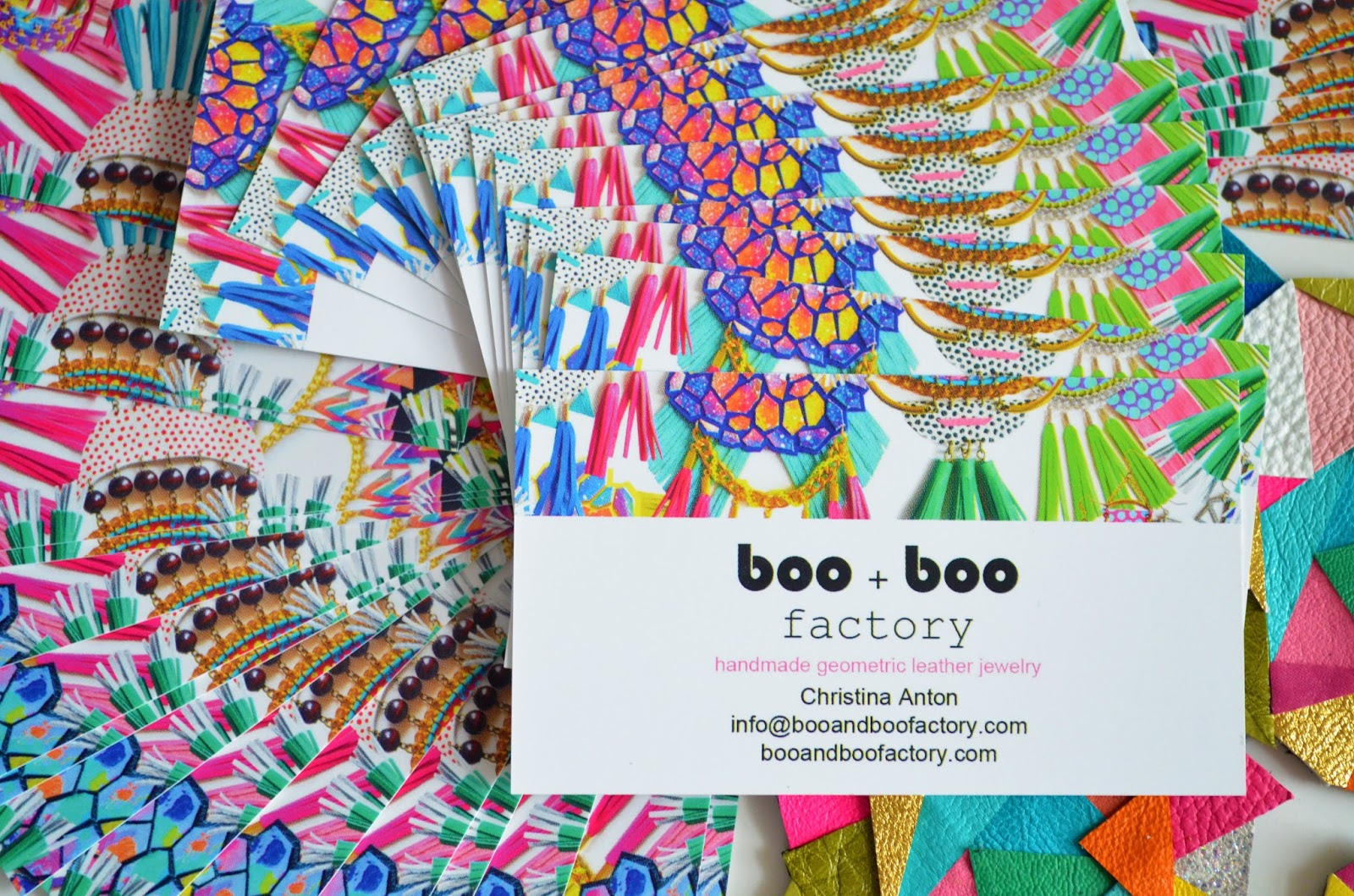 Boo and Boo Factory: Boo and Boo Factory Business Cards and Jewelry ...