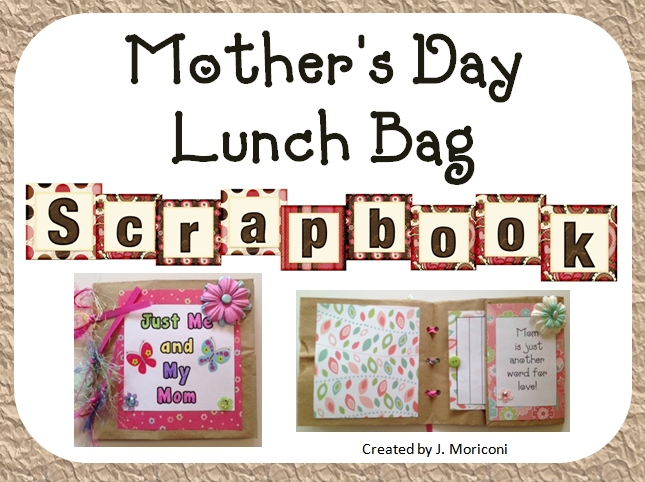 Mothers First Mothers Day Mother's Day Scrapbook And