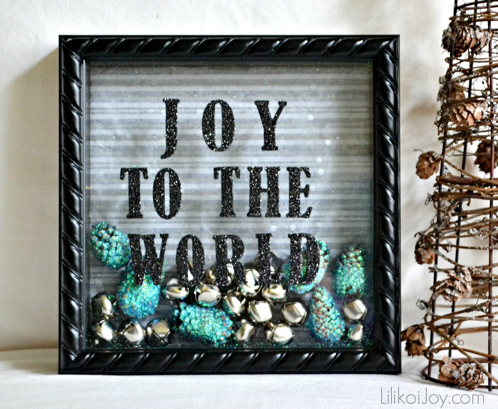 Joy to the World Shadow Box