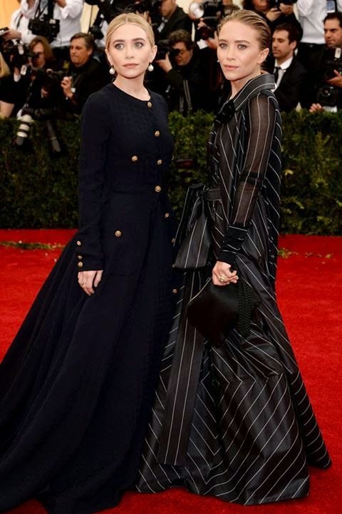 Red Carpet Met Gala 2014 mary kate and ashley olsen