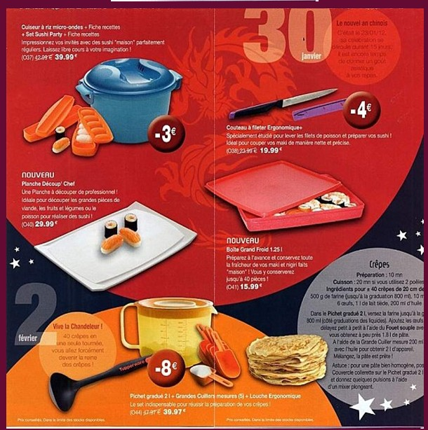 Ma cuisine en tupperware ya l promotions du mois de fevrier - Atelier cuisine tupperware ...