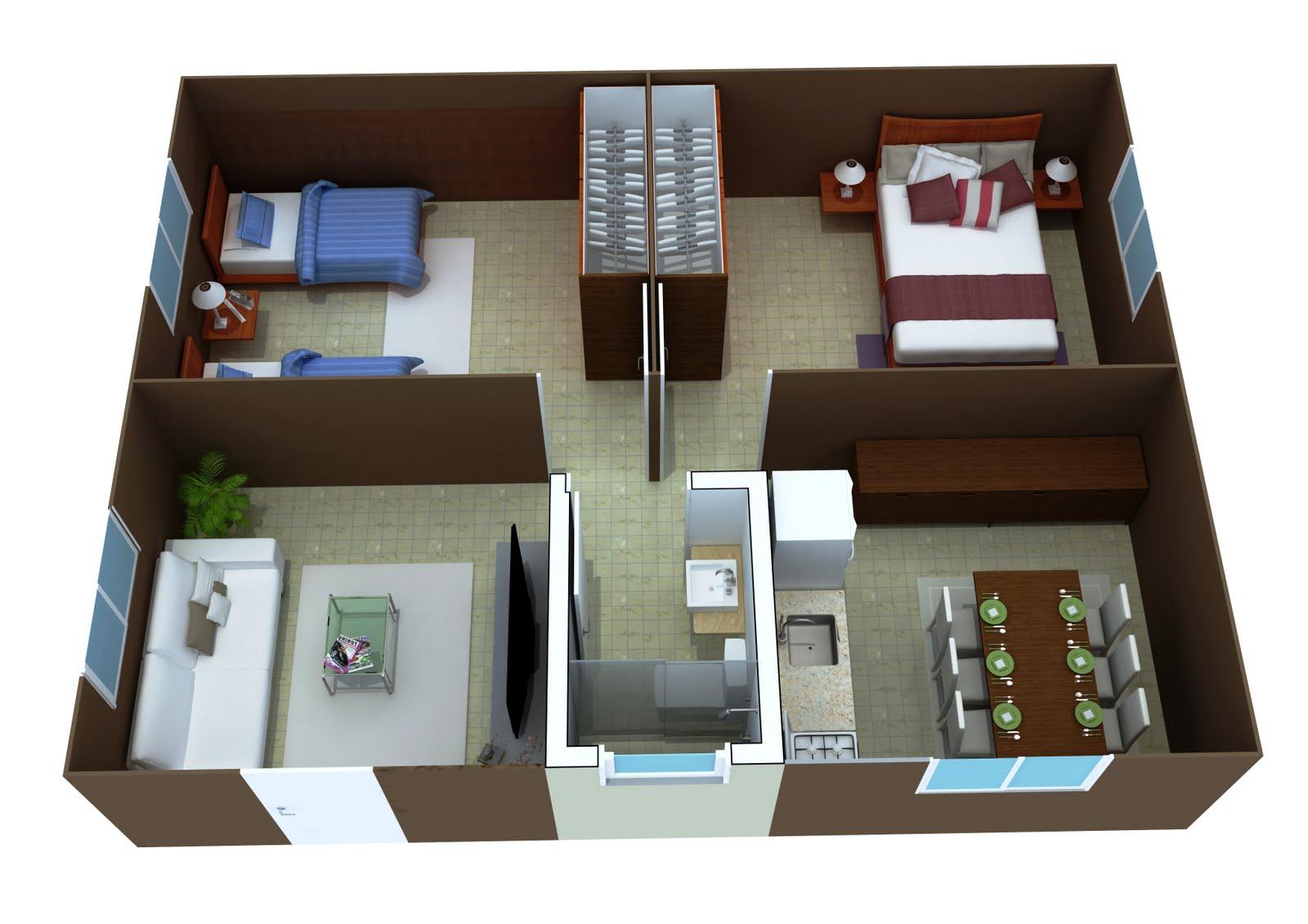 Como construir sua casa fotos de plantas de casas for Construir casas en 3d