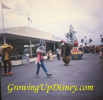 Brer Rabbit, Brer Bear, and Brer Fox in 1973 Magic Kingdom Parade