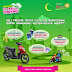 "Dutch Lady's ""Jom Balik Kampung"" Contest: Win Scooter, iPad Mini, Cash, Touch 'n Go Card"