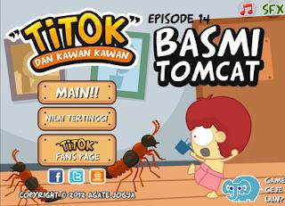 Bermain Game Online Game Basmi Tomcat - Serangga Tomcat
