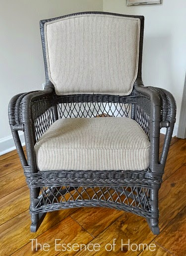 Wicker Rocking Chair - blogs de interior design